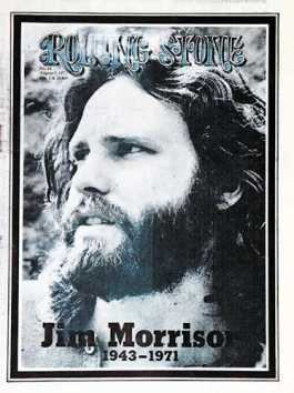Rolling Stone cover, August 1971 (Jim Morrison)
