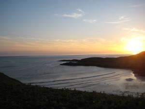 Sunset on the Summer Solstice 2012, above Kilchiaran Bay