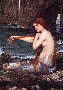John William Waterhouse - a mermaid