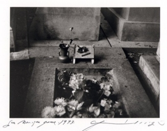 Jim Morrison's Grave, (c) Patti Smith