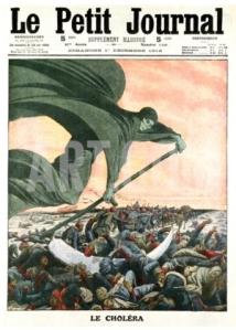 Le Cholera, from Le Petit Journal, Paris