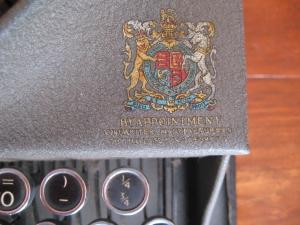 Typewriter Crest