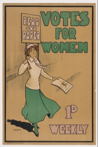 Votes for Women poster, 1920