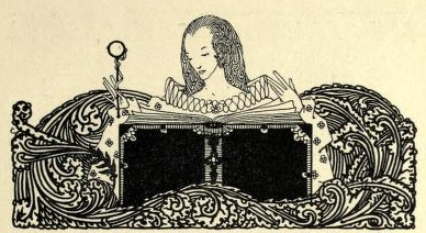 Illustration by Waltrich - a human figure reading a book