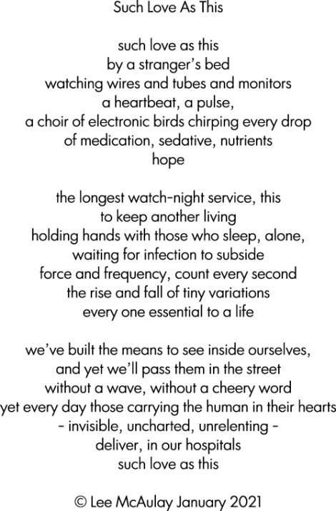 poem - such love as this