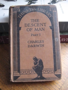 Old book - The Descent Of Man by Charles Darwin